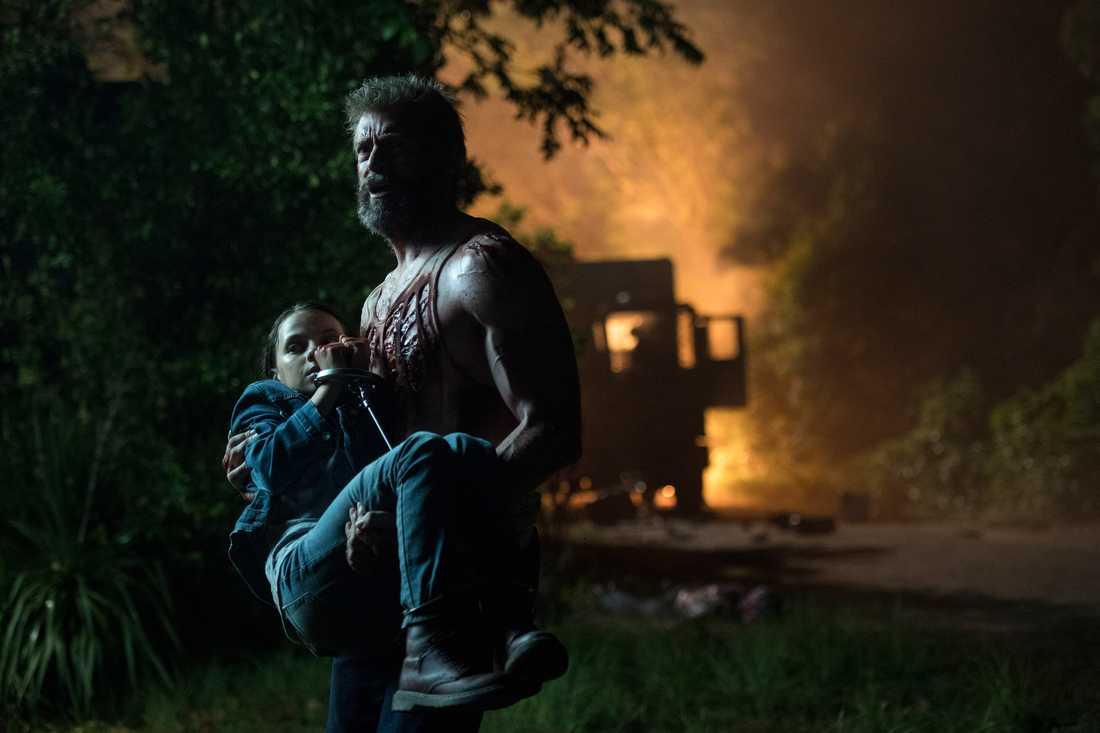 """Hugh Jackman säger nu farväl till """"Logan""""."""