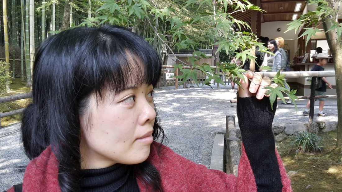 Daniels flickvän Yasue Nakashima.