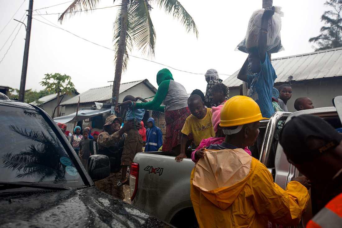 Haiti förbereder sig för katastrof.