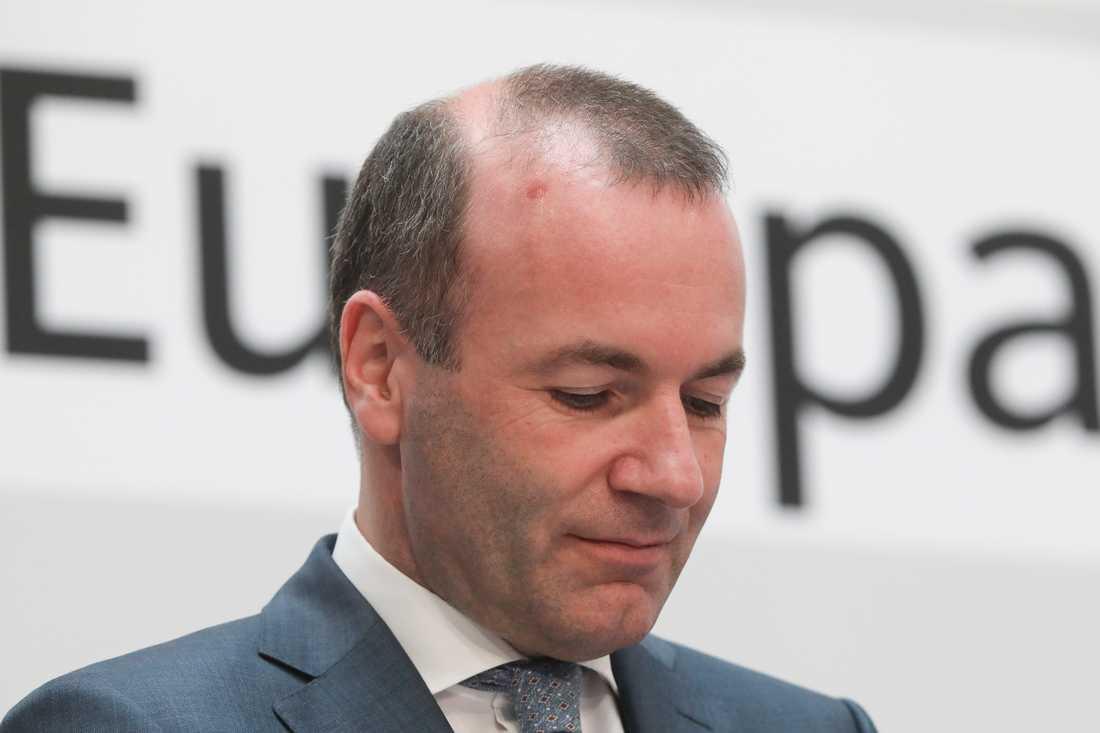 Tyske Manfred Weber hoppas bli EU-kommissionens nästa ordförande, som toppkandidat för kristdemokratiskt konservativa EPP.
