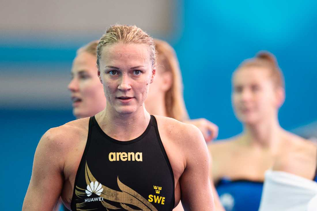 Sarah Sjöström börjar träna i bassäng igen på måndag.