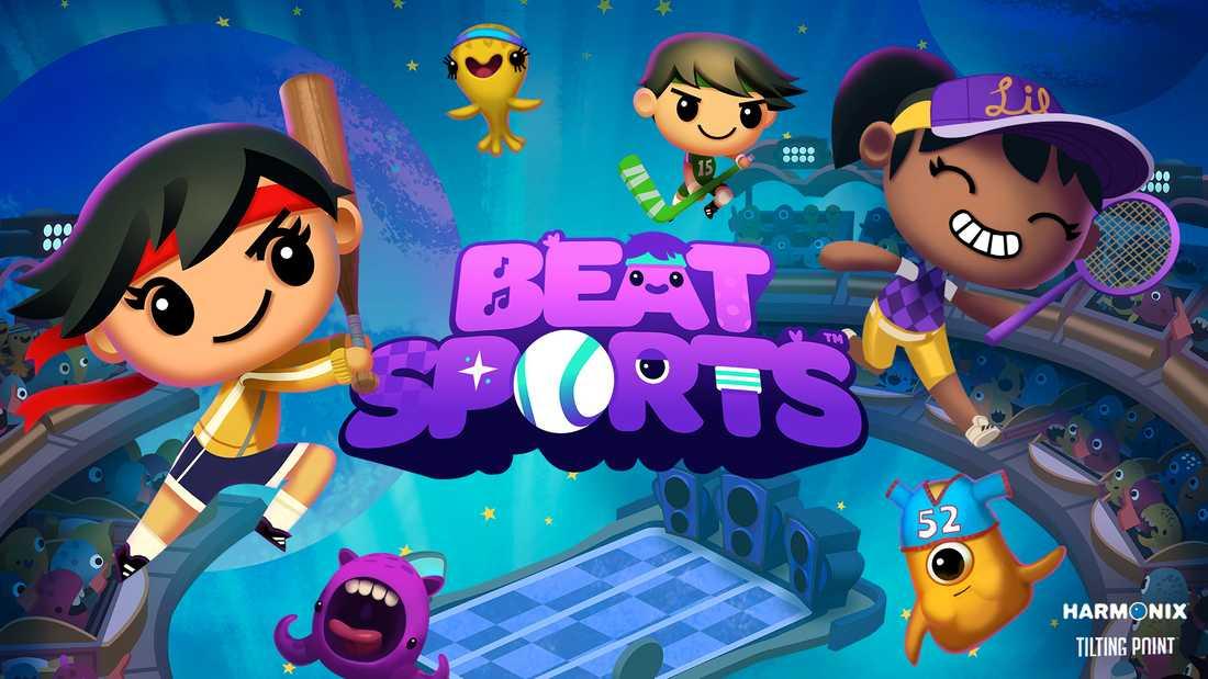 """Harmonix-utvecklade """"Beat sports"""" är exklusivt för Apple TV."""