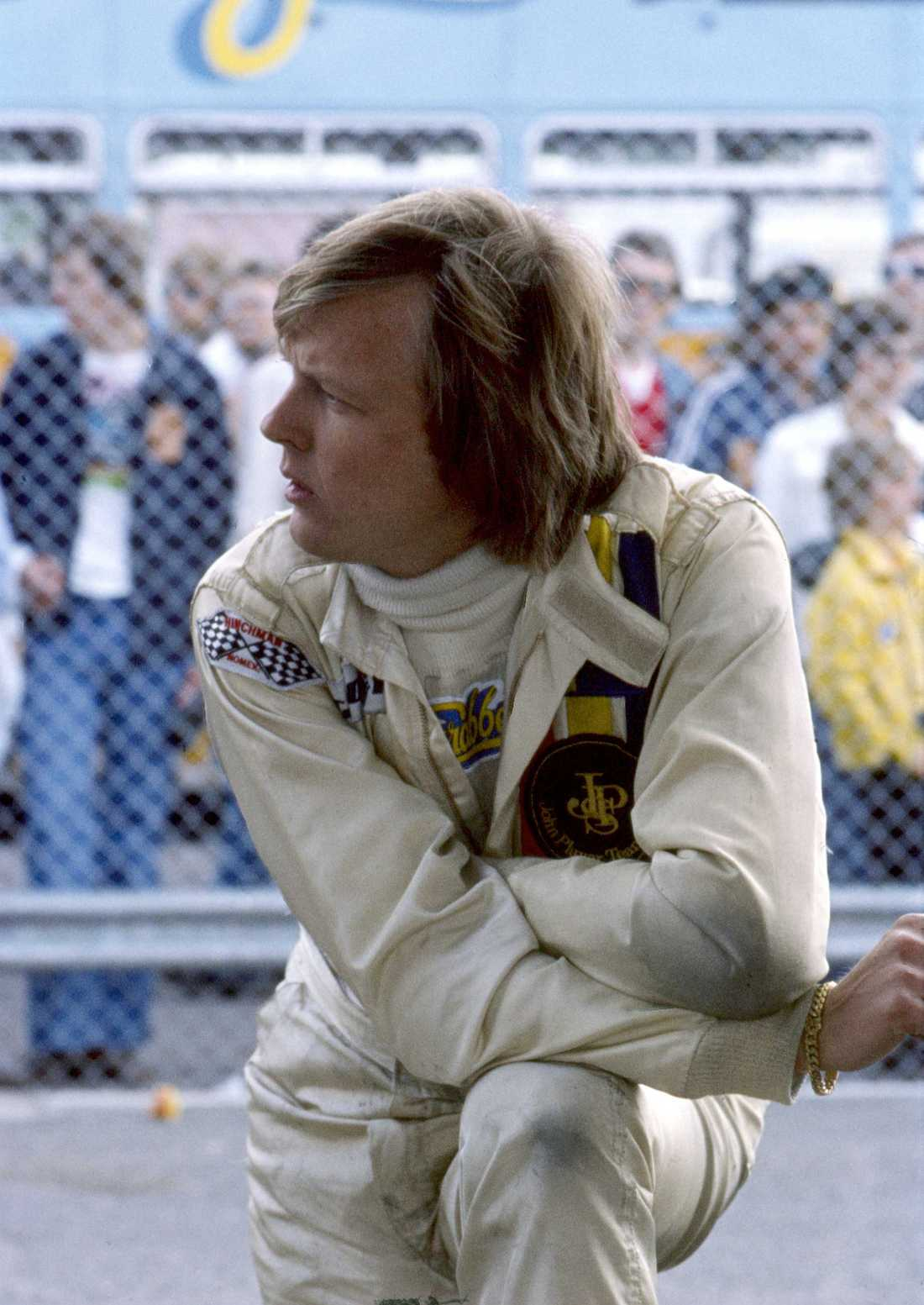 Ronnie Peterson dog 1978.