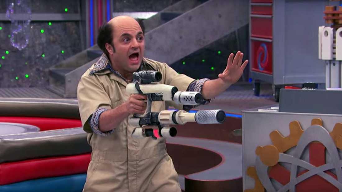"""Michael D Cohen som karaktären Schwoz i tv-serien """"Henry Danger""""."""