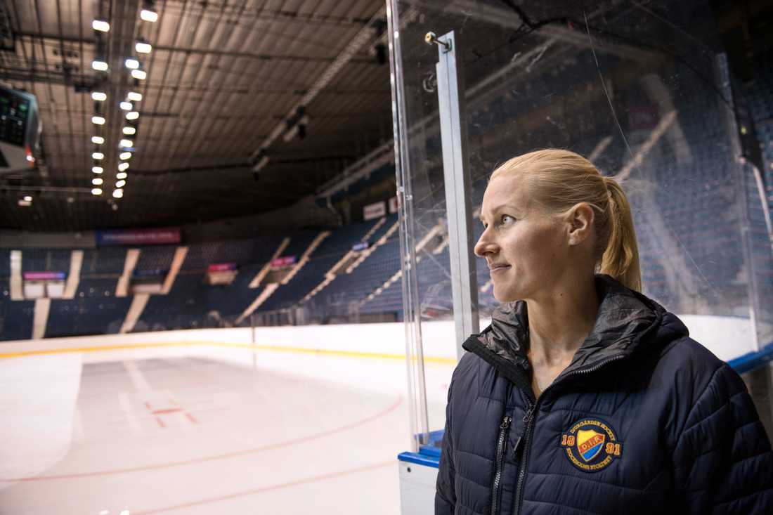 Danijela Rundqvist, verksamhetschef för Djurgården damhockey