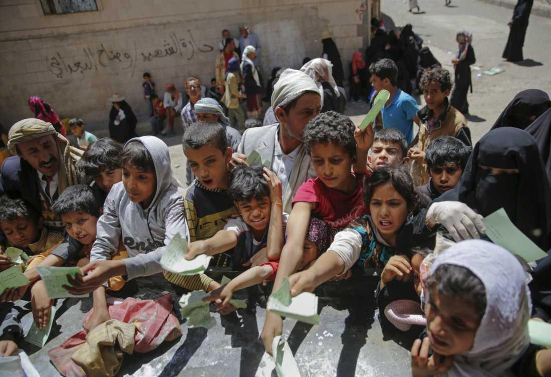 Vardagen i Jemen är en kamp för överlevnad.