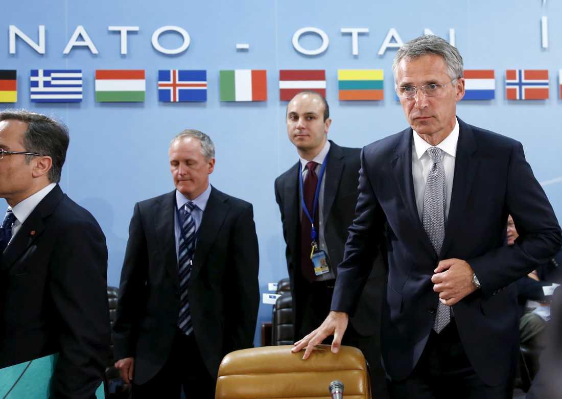 Jens Stoltenberg, generalsekreterare Nato.