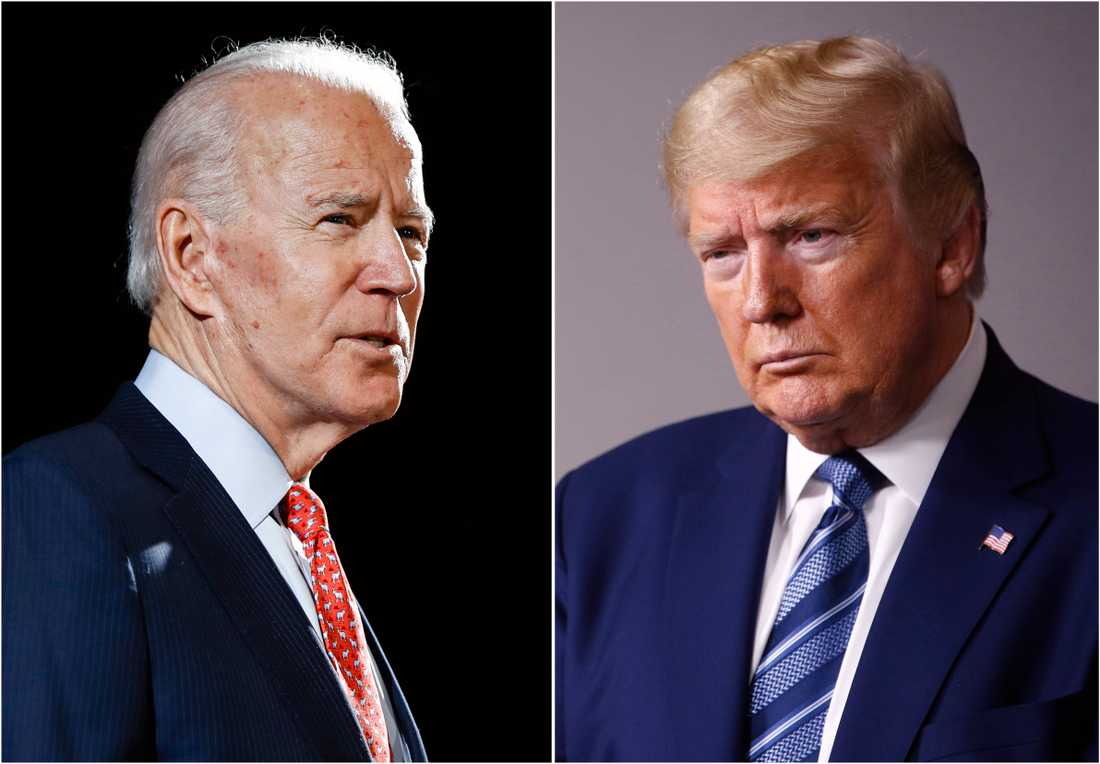 Demokraternas presidentkandidat Joe Biden och den sittande presidenten och republikanen Donald Trump möts under natten till onsdagen för debatt.