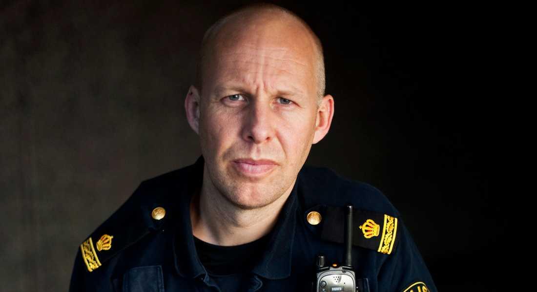 Polisforskaren Stefan Holgersson.