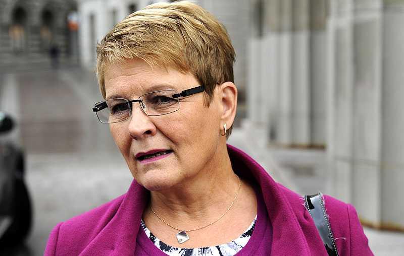 POSITIV TILL MP Centerledaren Maud Olofsson tycker att det är bra att diskussioner inleds med Miljöpartiet. – Jag hoppas bara att vi kan ha en god samtalston, säger hon.