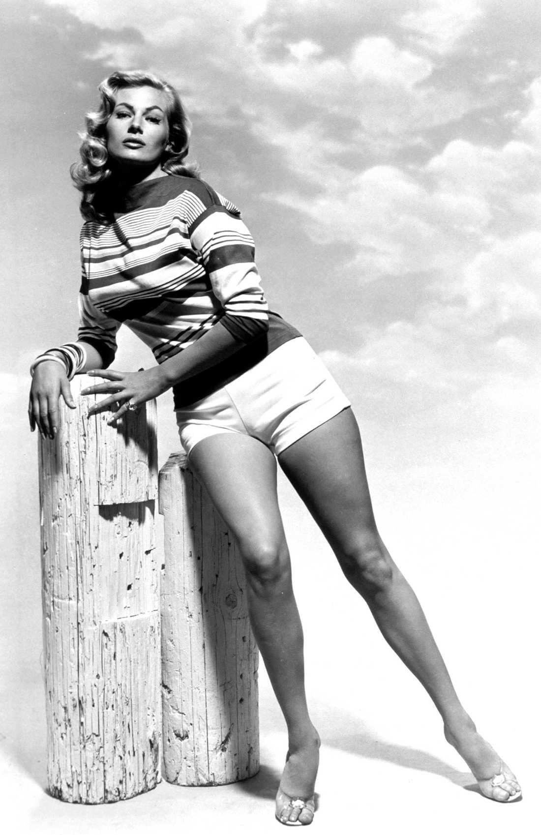 Anita Ekberg på 50-talet
