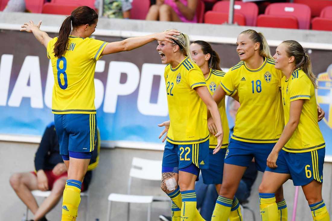 Sverige vann övertygande i senaste matchen mot Japan.