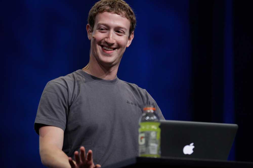 Mark Zuckerberg, 28, en av grundarna av Facebook.