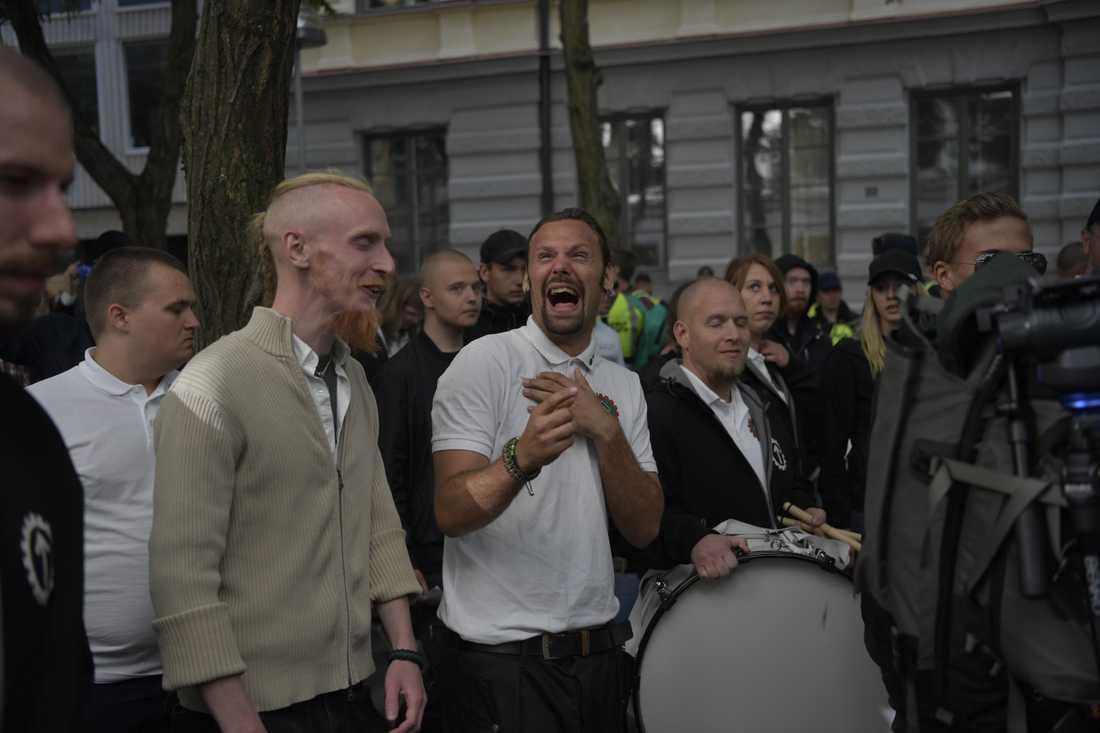 NMR-demonstranter.