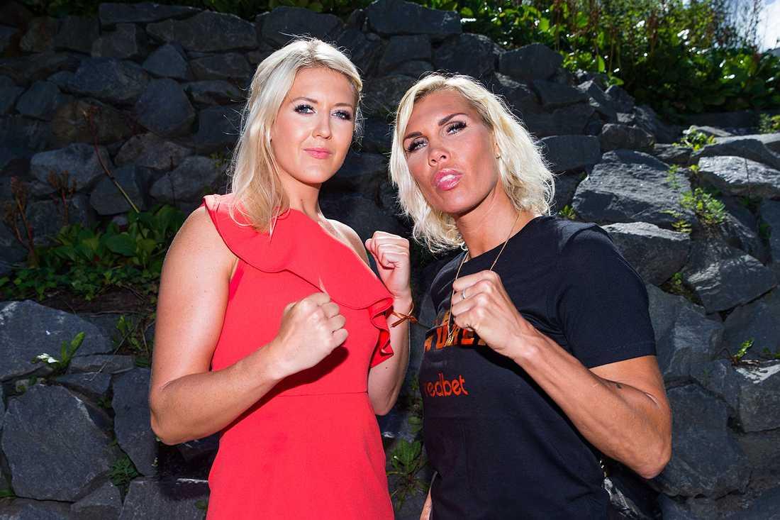 Klara Svensson och Mikaela Laurén 2016.