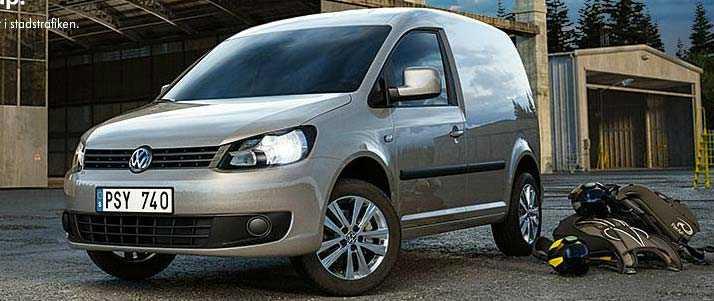 Volkswagen slutar leverera transportbilen Caddy med de berörda EU5-motorerna tills mjukvaran är uppdaterad.