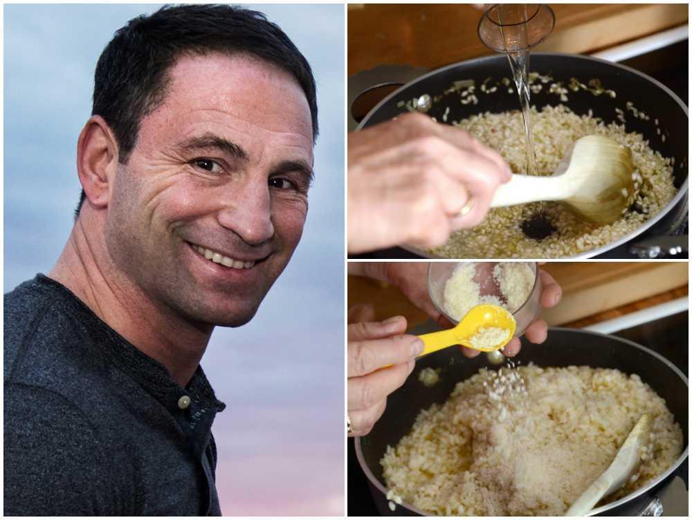 Paolo delar med sig av sina bästa risottotips.