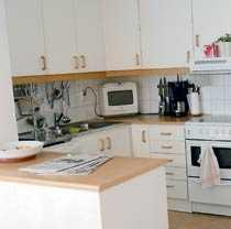 Trist Såhär såg köket ut från början.
