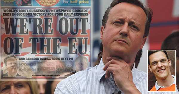 Ingen vinner på att Europa försöker straffa det brittiska folket för att de vill lämna EU. Det kommer att vara jobbigt nog för britterna ändå, skriver debattören. En som har det jobbigt är premiärminister Cameron.