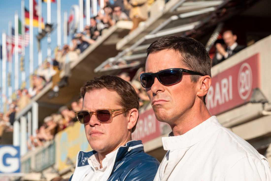 Matt Damon och Christian Bale.