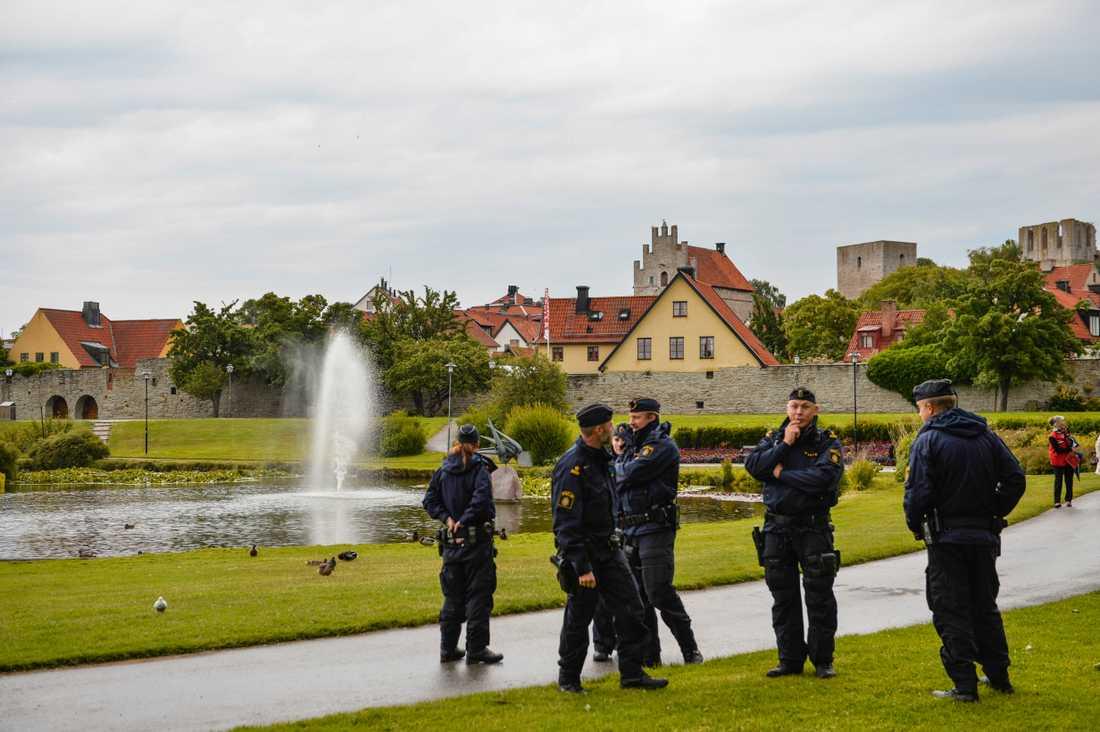 Arkivbild: Almedalen, Visby.