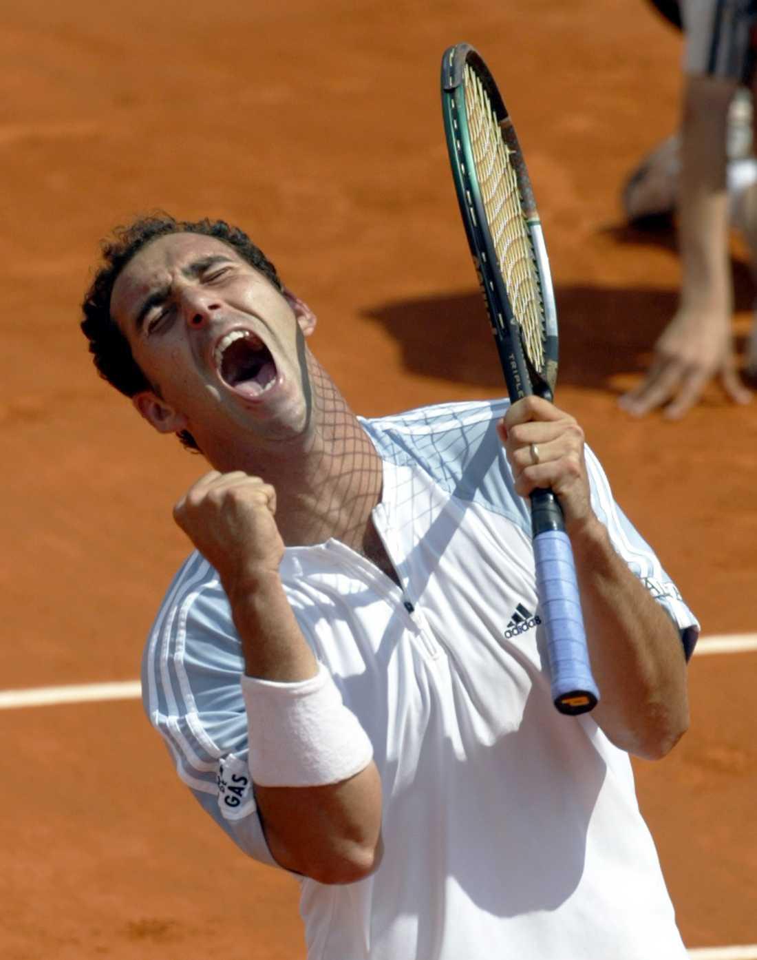 2002, Albert Costa (ESP)  Vann mot Juan Carlos Ferrero (ESP) med siffrorna 6-1, 6-0, 4-6, 6-3.