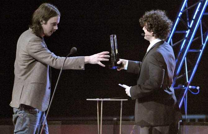 Kleerup fick pris som årets producent.