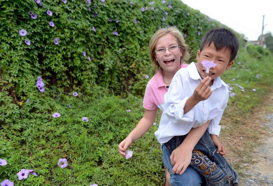 En månad efter operationen i somras var Trung helt återställd enligt läkarna.