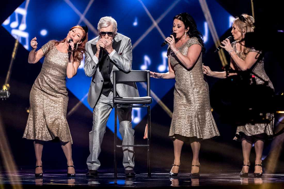 Owe i Melodifestivalen.