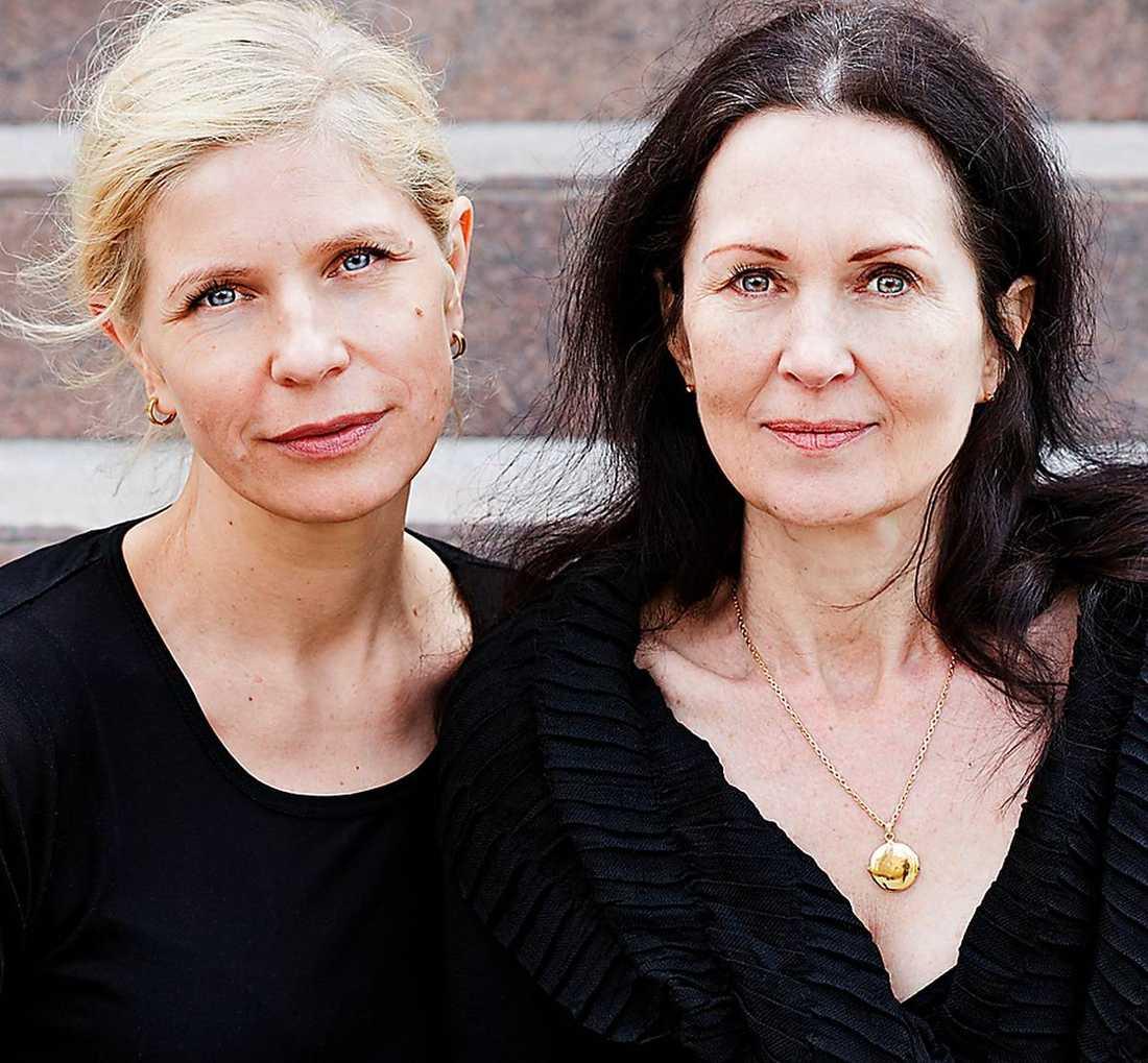 Caroline Roosmark fotar och Åsa Mattsson skriver.