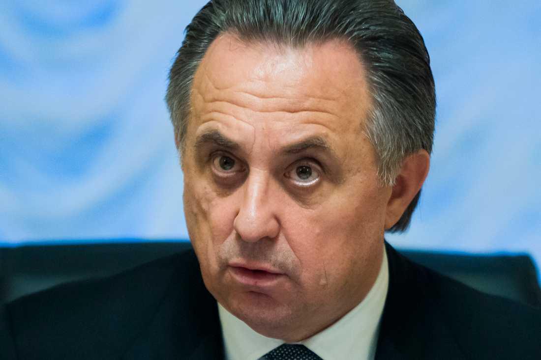 Vitalij Mutko, Rysslands idrottsminister.