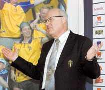 Fotbollförbundets ordförande Lars-Åke Lagrell.