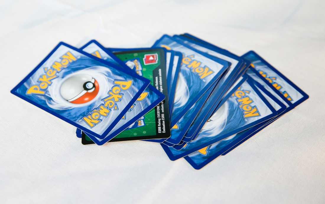 Samlarintresset för Pokémonkort har ökat. Arkivbild.