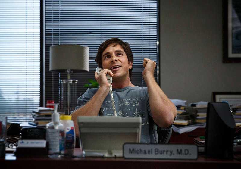 "Christian Bale i ""The big short""."