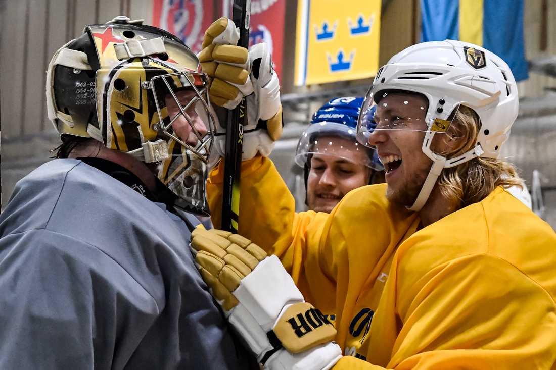 Oscar Dansk och William Karlsson.