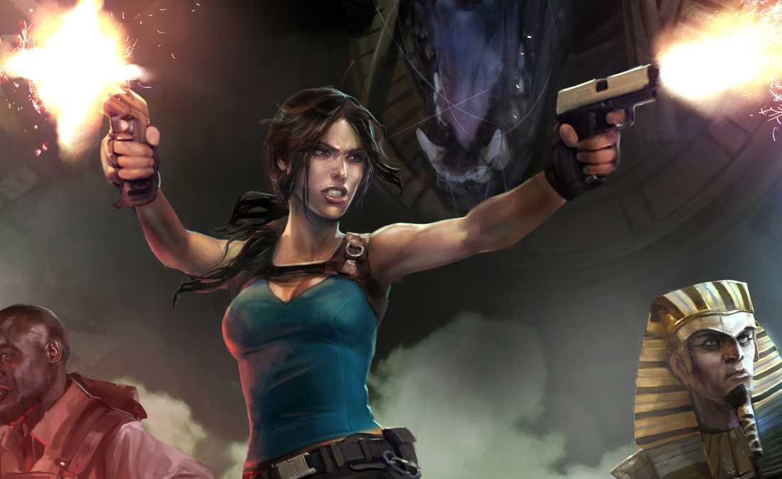 """Lara Croft and the temple of osiris""."
