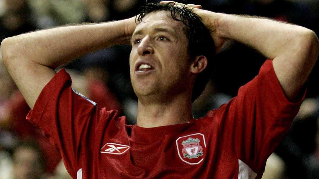 Robbie Fowler i Liverpools tröja.