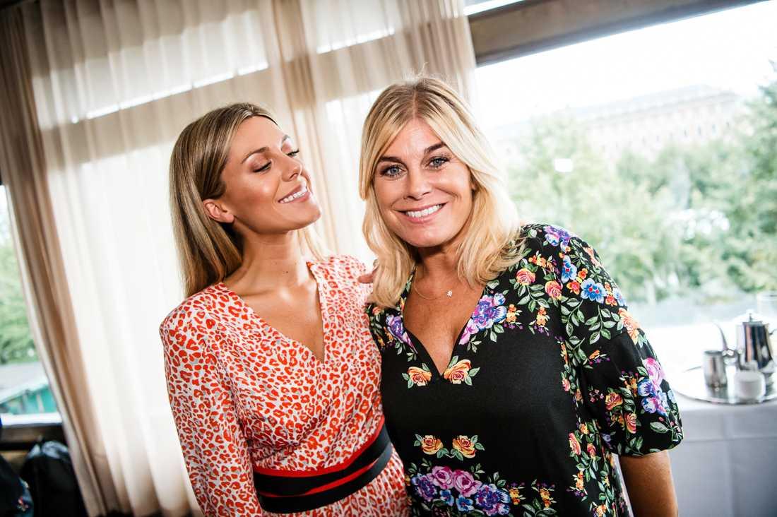 Pernilla Wahlgren tillsammans med dottern Bianca Ingrosso.