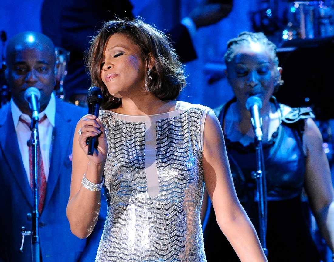 Whitney Houston passerar miljardgränsen på Youtube postumt. Arkivbild