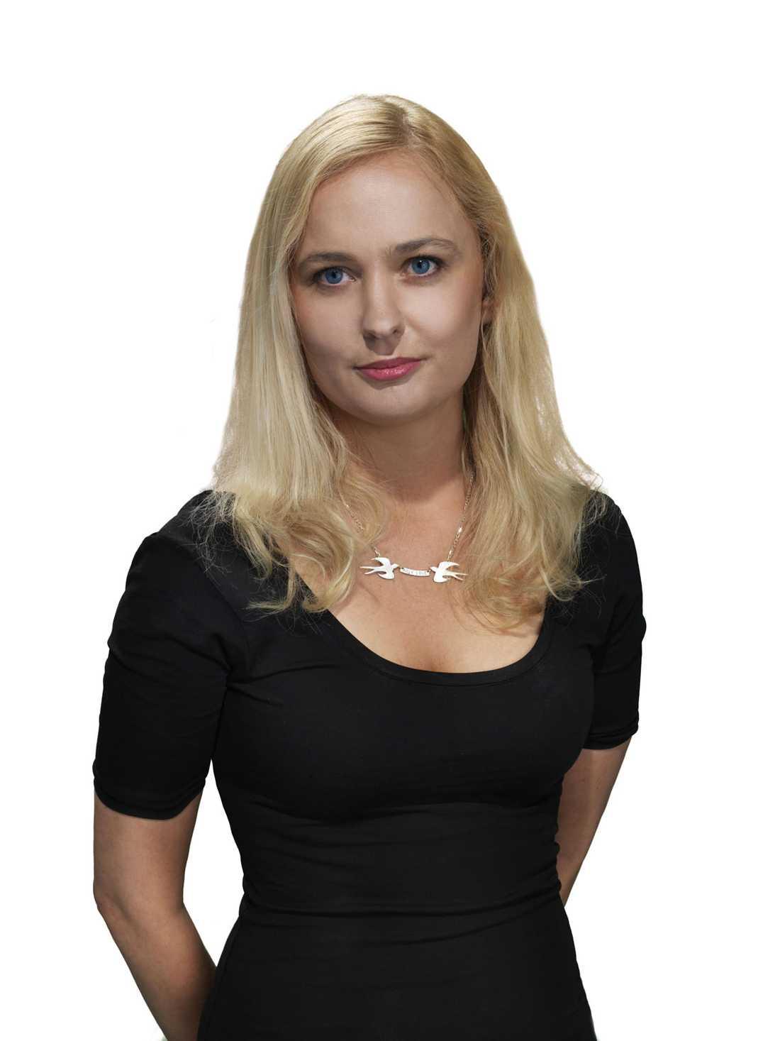 """Johanna Ögren, en av bloggarna bakom """"Bokhora""""."""