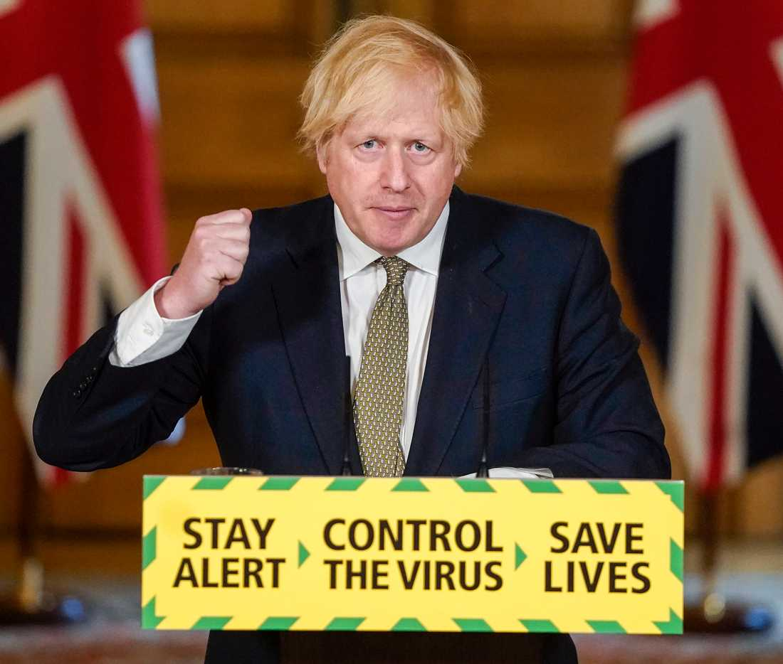 Storbritanniens premiärminister Boris Johnson ska frågas ut. Arkivbild.