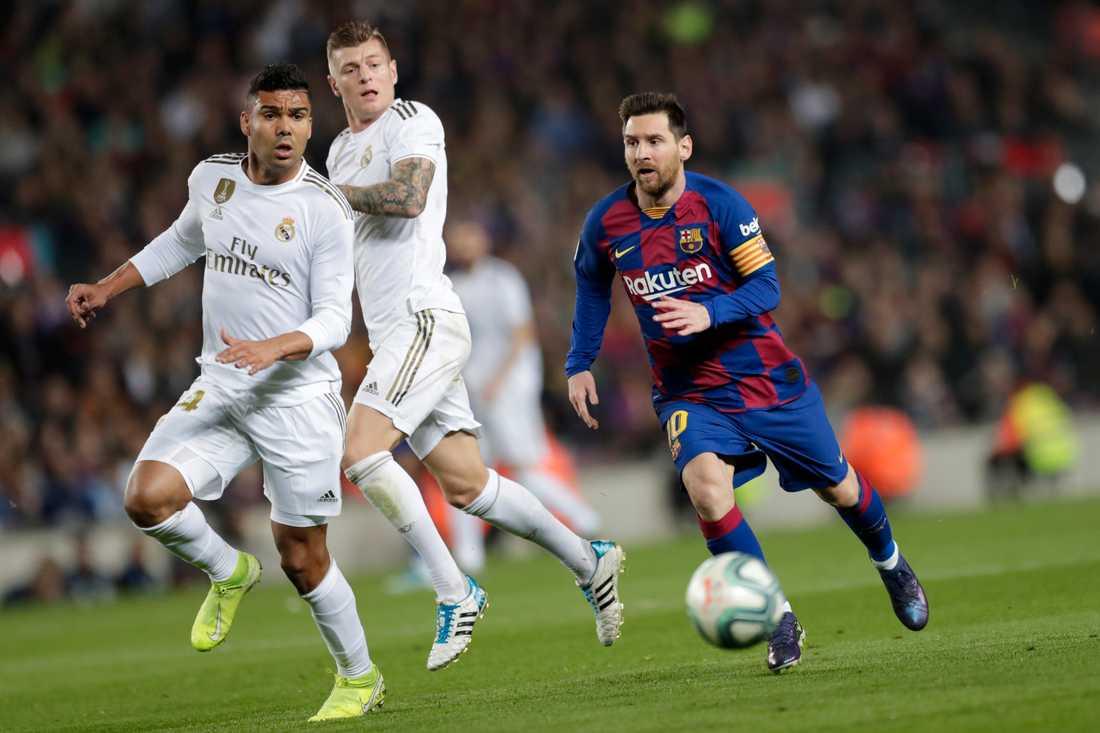Det kan bli Real Madrid mot Barcelona i final – men knappt några hemmafans följer med.