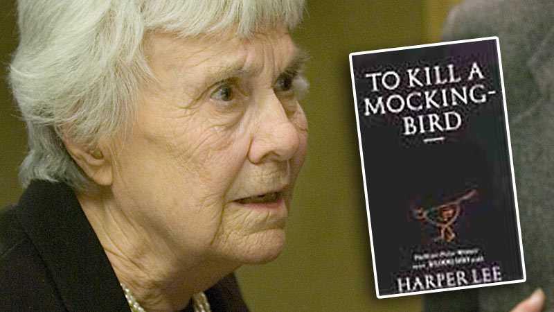 Harper Lee, född 1926.