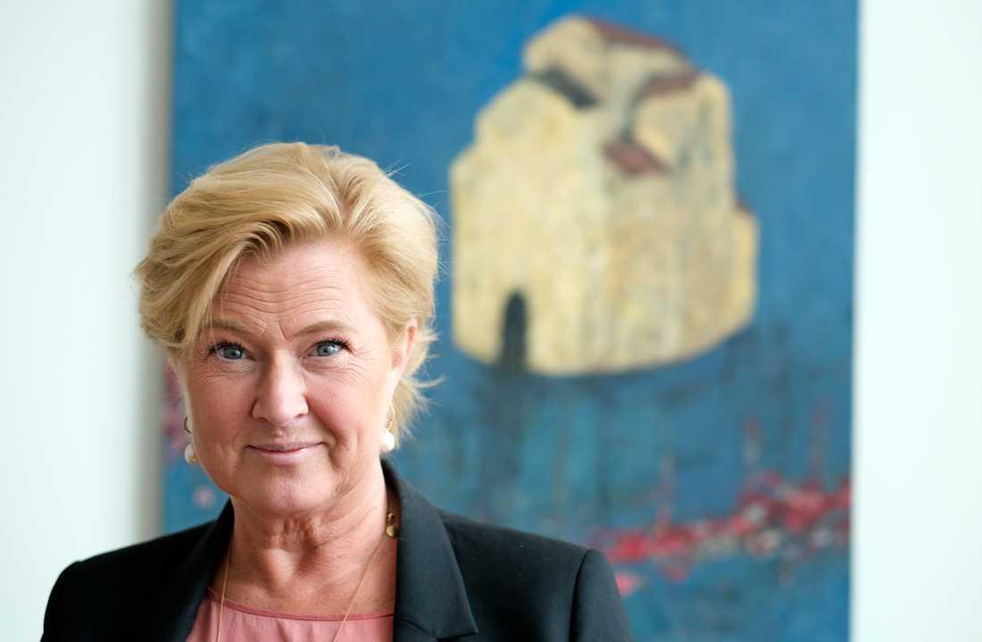 Försäkringskassans tillförordnade generaldirektör Maria Hemström Hemmingsson arbetar för att öka förtroendet för myndigheten och hoppas få fortsätta på posten.