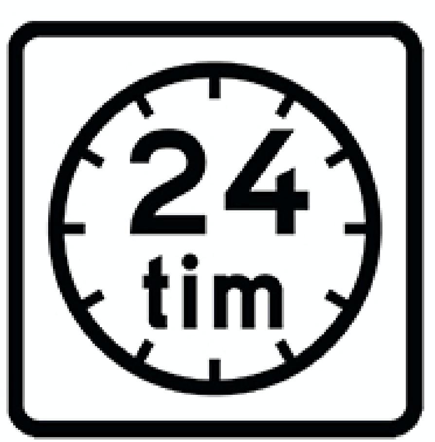 T25. Anger servering eller restaurang som är öppen dygnet runt.