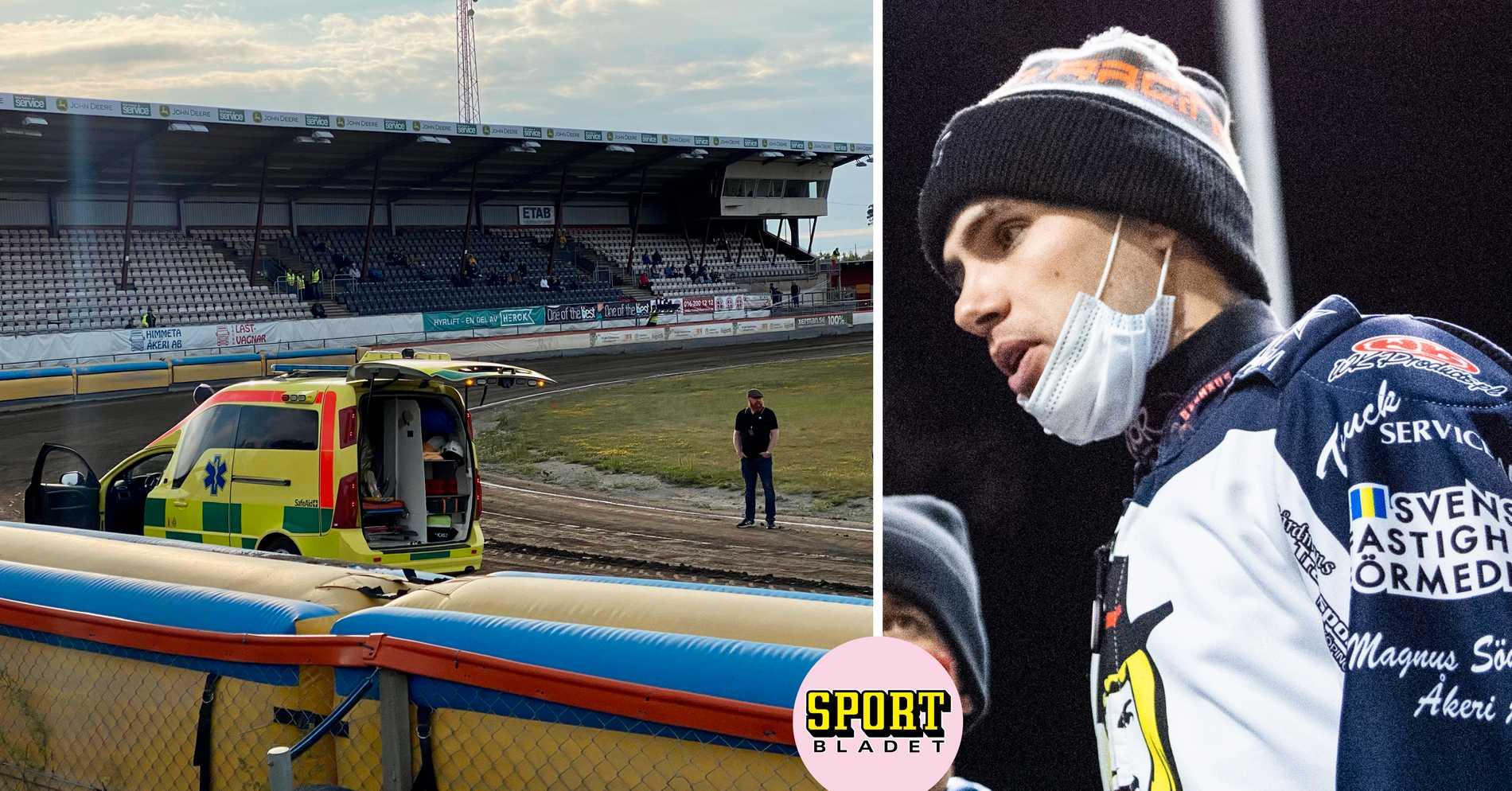 Speedwaystjärnan Kim Nilsson i otäck krasch