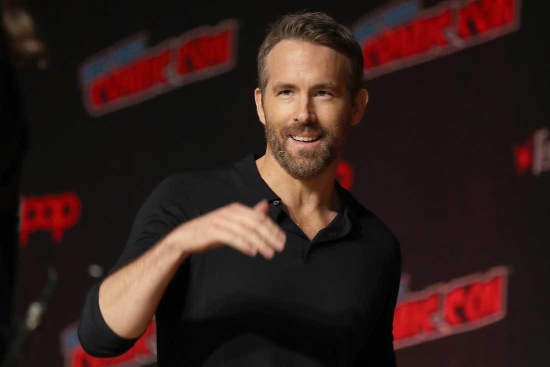Skådespelaren Ryan Reynolds vill investera i fotbollsklubben Wrexham. Arkivbild.
