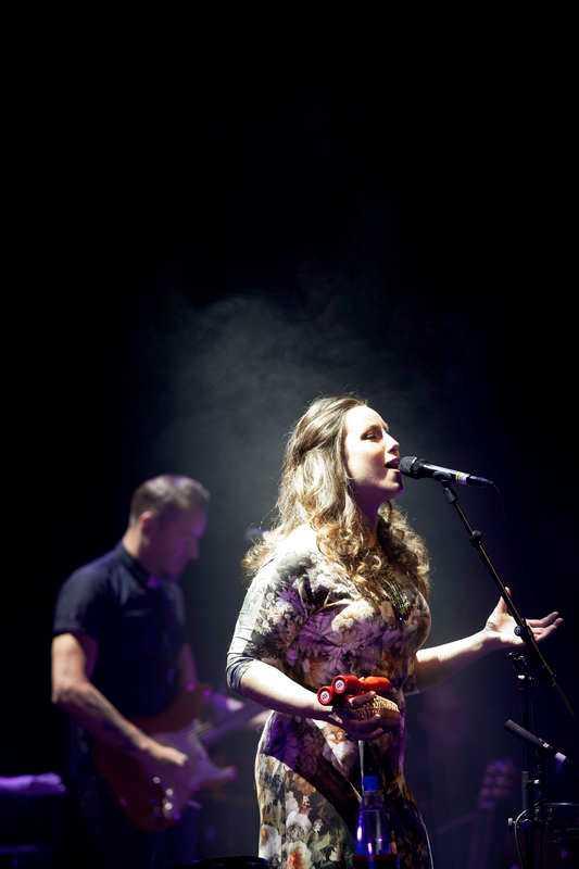 Lisa Nilsson spelade i Luleå i söndags.