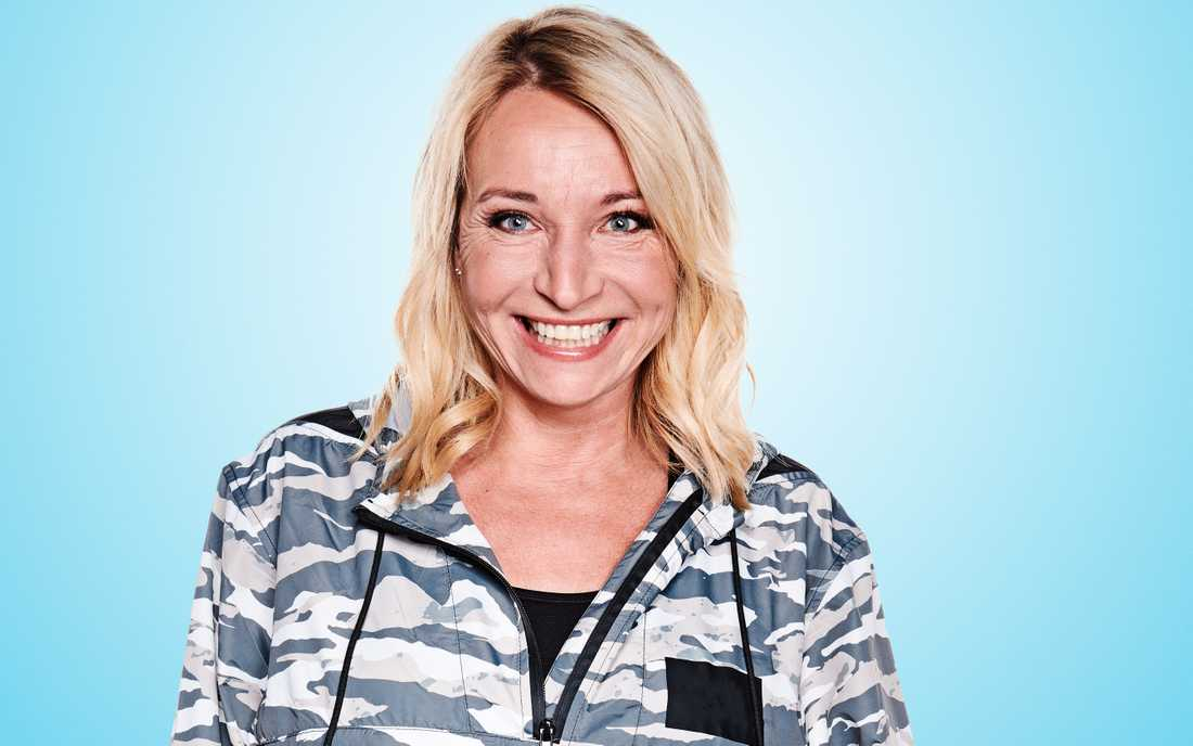Martina Haag är en av sex deltagare i nya realityserien.