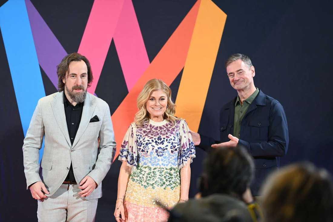 Per Andersson, Pernilla Wahlgren och Christer Björkman leder den fjärde deltävlingen.